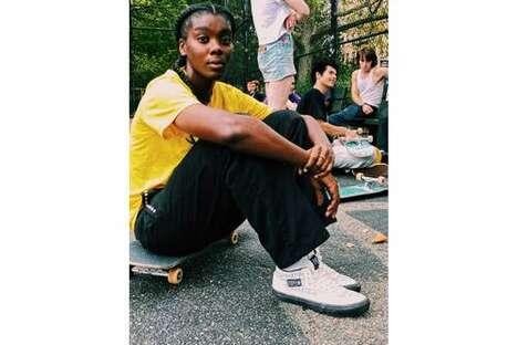 Street-Informed Skate Sneakers