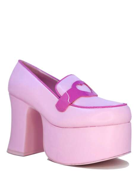 Doll-Inspired Platform Footwear