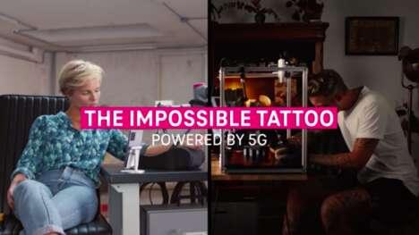 Robotic Tattoo Artists