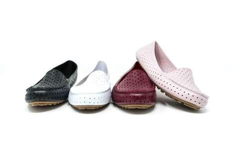 Fashion-Forward Jelly-Like Shoes
