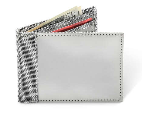 Protective Woven Steel Wallets
