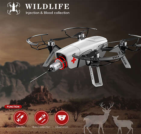 Wildlife Rescue Drones