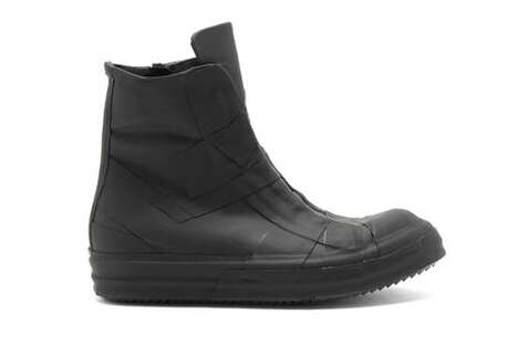 Bondage-Inspired High-Top Boots