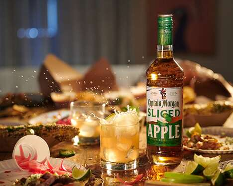 Spiced Apple Ginger Rums