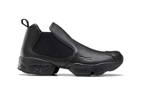 Sneaker-Transformed Sleek Boots