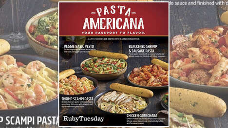 Americana-Themed Pasta Dishes