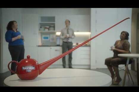 Social Distancing Teapots