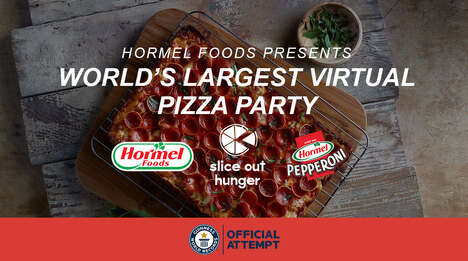 Record-Breaking Virtual Pizza Parties