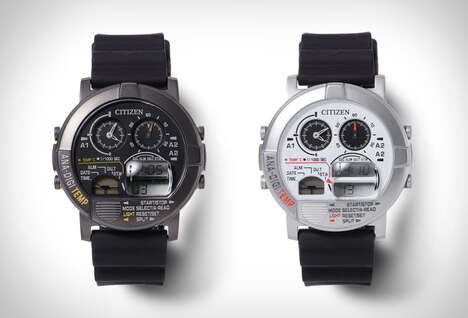 Collaboration 80s-Style Timepieces