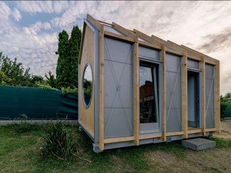 DIY Minimalist Tiny Cabins