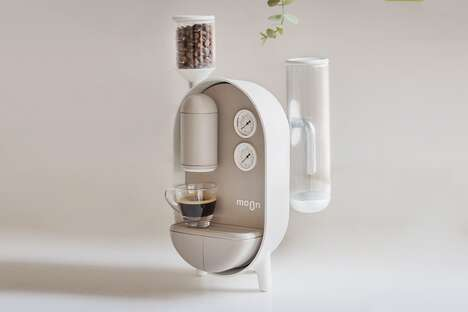 Conceptual Steampunk Coffee Makers