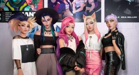 Virtual K-Pop Singles