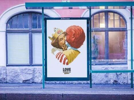 Helsinki Pride Fast Food Ads