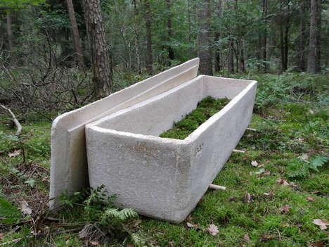 Mushroom Mycelium Coffins
