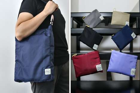 Functional Folding Tote Bags