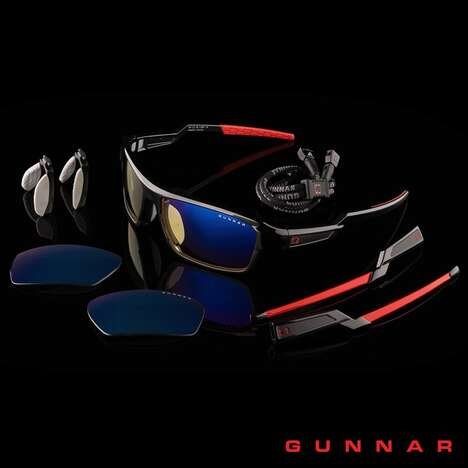 Elite Performance-Driven Gaming Glasses