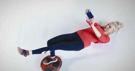Smartphone-Powered Core Trainers