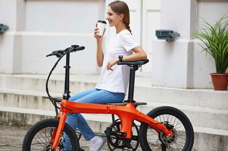 Collapsible Carbon Fiber eBikes