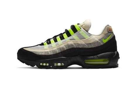 Denim-Detailed Casual Sneakers