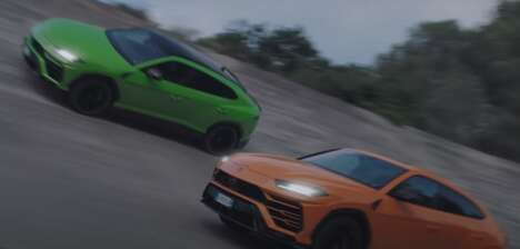 High Speed Sport Utility Car Ads