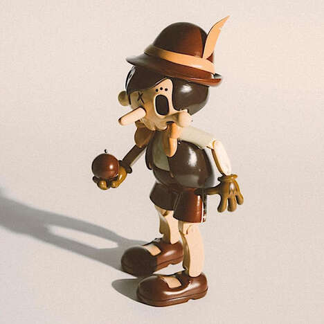 Eerie Vintage Marionette Toys