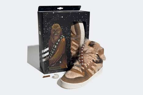 Furry Space Creature Sneakers