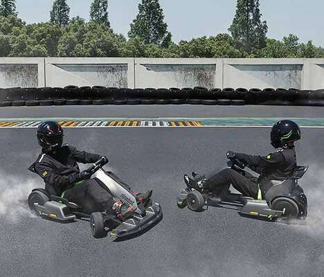 High-Speed Electric Go-Karts