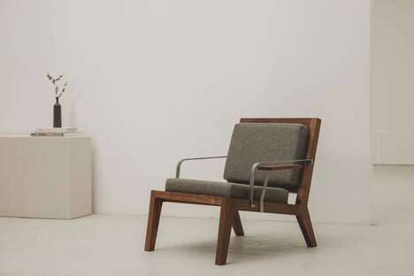 Minimalist Locally-Made Lounge Chairs