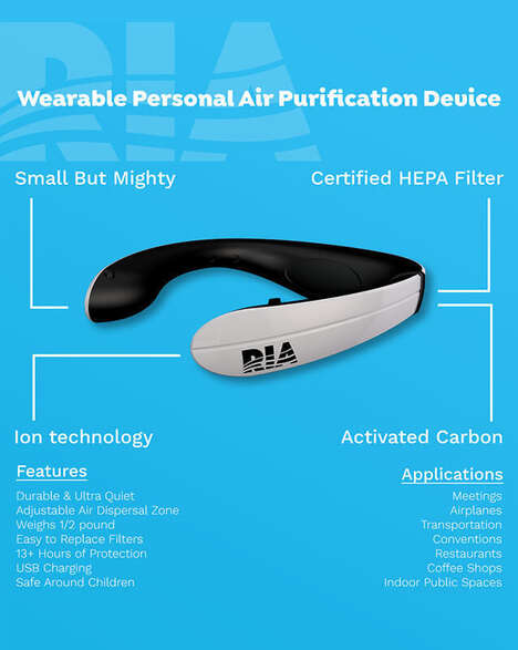 Wearable Aromatherapy Purifiers