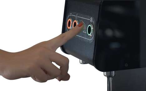 Touch-Free Water Dispenser Buttons
