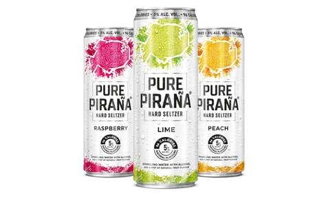 Expansive Flavor Sparkling Cocktails