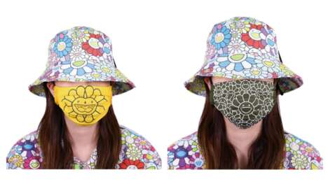 Florally Artistic Face Masks