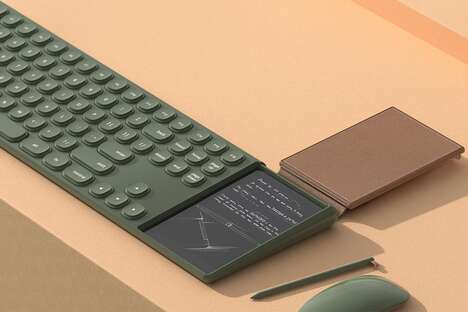 Digital Notepad Keyboards