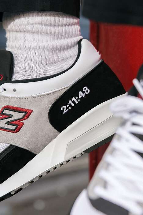 Marathon-Inspired Running Footwear