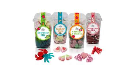 Prepackaged Candy Cups