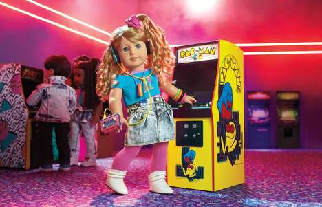 80s-Inspired Gamer Dolls