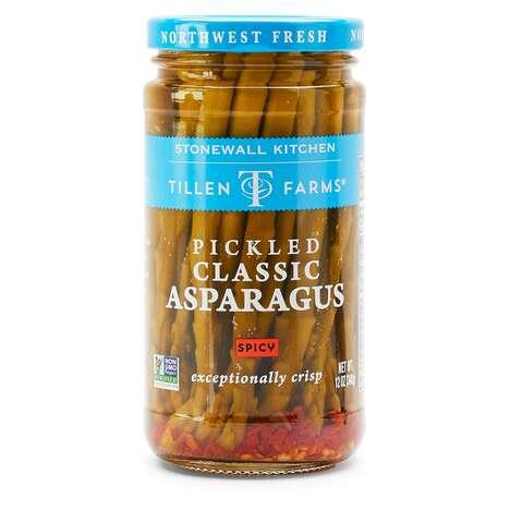 Fermented Asparagus Snacks