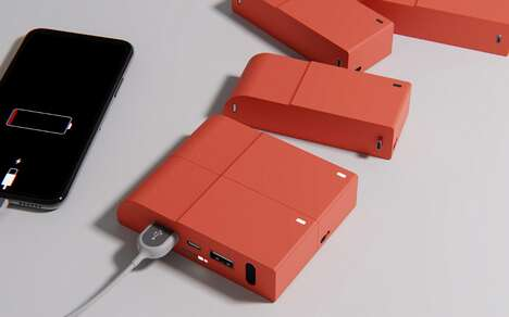 Customizable Cubic Power Banks