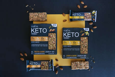 Keto-Friendly Crunchy Bars