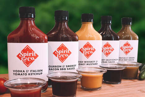 Liquor-Infused Condiments