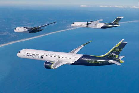 Zero-Emissions Hydrogen Aircrafts