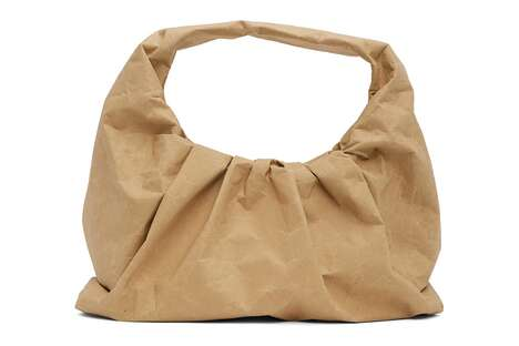 Paper Bag-Inspired Purses