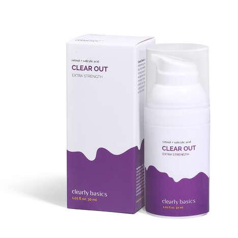 Non-Prescription Retinol Skincare