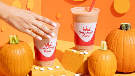 Organic Pumpkin Smoothies