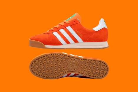Bright Orange Casual Footwear