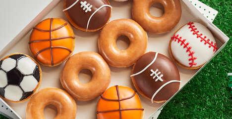 Sports-Celebrating Doughnut Promos