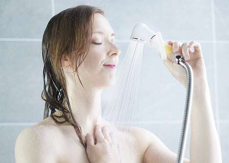 Vitamin-Enriched Shower Systems