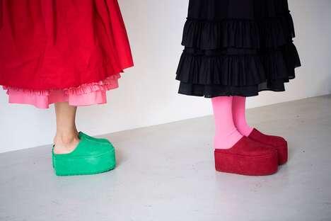 Eccentric Platform Shoe Collaborations
