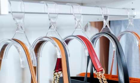 Acrylic Handbag Hangers