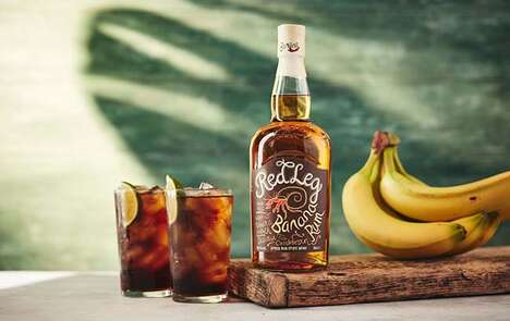 Banana-Infused Rums